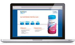 Sito di prodotto | cliente: Nestlé Nutrition