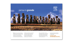 Campagna stampa istituzionale | art direction e copy writing: G. Gandolfo | cliente: Elsevier