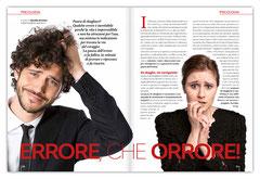 Magazine | Corofar Salute – doppia pagina interna | cliente: ABC Editoriale