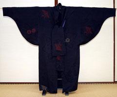 羽織から作るコート(正面)