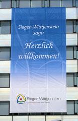 Netzvinyl 650 x 1300 cm - NRW-Tag 2010 in Siegen