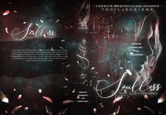 soulless - available • E-book+print 140€ • • Title font and effects can be changed and adjusted.