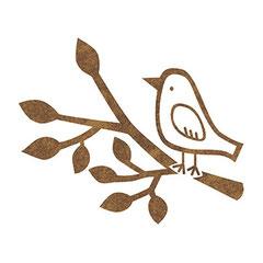 リトルプレスロゴ:鳥(北川デザイン事務所より依頼仕事)
