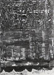 93  Textural reflections black     50x70