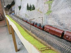 Güterzug Crossrail (2882)