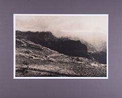 View from mount El Montanon. Gran Canaria, 2018 (Lithprint, 50 x 40 cm)