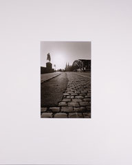 Cobblestone and cathedral. Cologne, Germany - 2016 (Silvergelatineprint in PP 40 x 40 cm, Edition of 25)