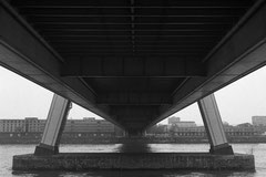 Under Severin bridge (Cologne, Germany. 2004)