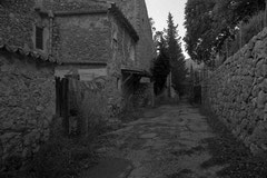 Alley in Son Llobera (Serra de Tramuntana, Mallorca, Spain. 2019)
