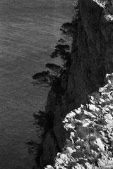 Steep cliff (Cala Estremer, Mallorca, Spain. 2019)