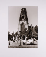 Agneskirche. Cologne, Germany - 2006 (Silvergelatineprint,in Passepartout 40 x 50 cm, Edition of 15)