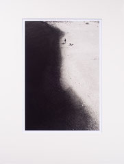 Fisherman at Rhine river. Cologne, Germany - 2009 (Silvergelatineprint in Passepartout 30 x 40 cm, Edition 25)