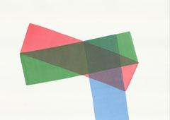 Dirk Rausch: Aquarell_1, 45 x 60,3 cm, 2016