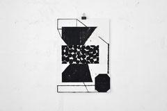 Sasha Pichushkin, Collage_11, Mischtechnik auf Papier, 30 x 42 cm, Galerie SEHR Koblenz