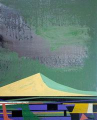 James Wallace Harris:  o.T., 2011, Acryl auf Holz, 22 x 27,6 cm,   Galerie SEHR Koblenz