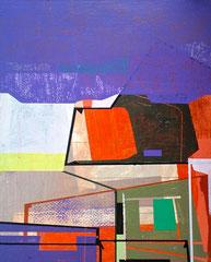 James Wallace Harris: Modul 2, Acryl auf Holz, 22 x 27 cm,  Galerie SEHR Koblenz