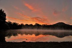 Ian : A l'aube au lac de St Jean Pla-de Corts