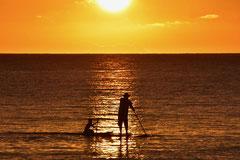 Jean-Louis : Coucher de soleil sur le Pacifique 1