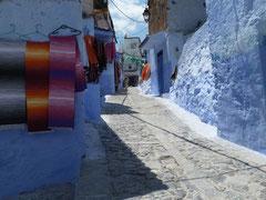 Christian : Lumières bleues - Chef Chaouen Maroc 1