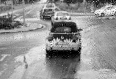 Monique : Rouler sous la pluie