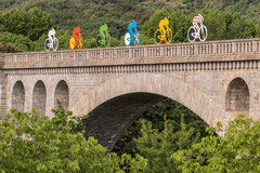 Caroline : Décoration cyclistes 2