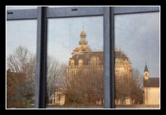 Bernadette : Reflet du chateau d'Aubiry