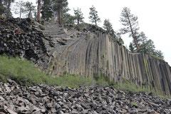 Jean-Louis : Orgues de basalte (Mono lake, Californie)