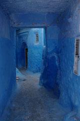 Christian : Lumières bleues - Chef Chaouen Maroc 2