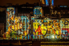 Francis : Fête des Lumières à Lyon