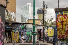 Jennifer : BrickLane, Londres 2
