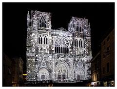 Daniel : Cathédrale Saint Maurice de Vienne - Illuminations du 8 décembre