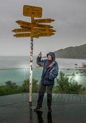 Francis : Pluie en nouvelle Zélande