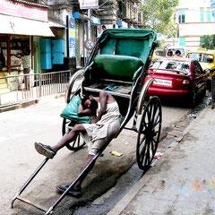 Philippe : Repos bien mérité à Calcutta