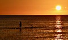 Jean-Louis : Coucher de soleil sur le Pacifique 2