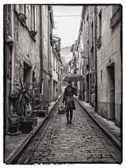 Daniel : Céret - Sous la pluie