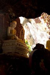 Phillippe : grotte de Sa Dan, Birmanie