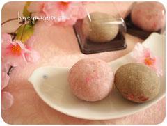 桜和菓子石けん