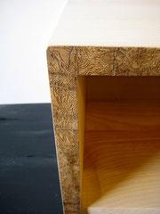 ébénisterie Marquis - meuble de télévision en bois massif
