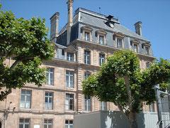 Lycée Montaigne actuel à Bordeaux. Cliquez sur l'image pour l'agrandir.
