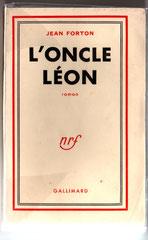 1e couverture de L'Oncle Léon. Cliquez sur l'image pour l'agrandir.