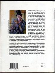 """Verso du catalogue du Festin édité à l'occasion de l'exposition """"Jean Forton, un écrivain dans la ville"""" organisée à Bordeaux en 2000-2001. Cliquez sur l'image pour l'agrandir."""