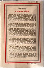 4e couverture de L'Oncle Léon. Cliquez sur l'image pour l'agrandir.