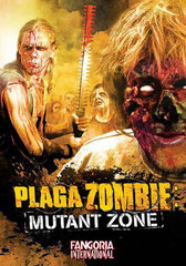 Cover DVD de Plaga Zombies