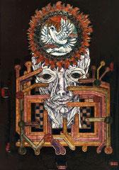 introspection (2 plaques) 25x40 cm
