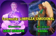 Ceremonia Activacion - LIMPIEZA emocional con SAINT GERMAIN y RAFAEL
