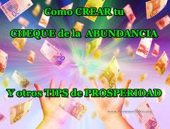 Como CREAR tu CHEQUE de la ABUNDANCIA y otros trucos de prosperidad