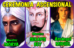 Ceremonia ASCENSIONAL con MORIA SERAPIS BEY y MIGUEL