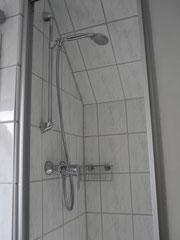 Dusche im Dachgeschoss