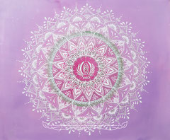 Mandala 'Heilung' 50 x 60 cm / CHF 450