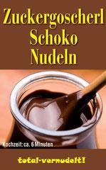 Schokoladen Nudeln